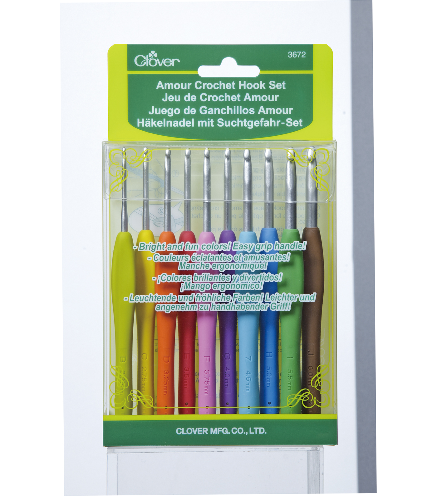 """/""""Comfort Cushion For Crochet Hooks-Fits Up To Size G Set Of 3/"""""""