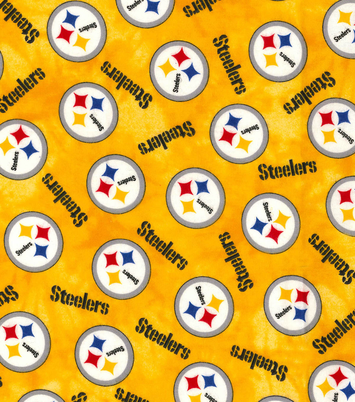 Pittsburgh Steelers Flannel Fabric 42\