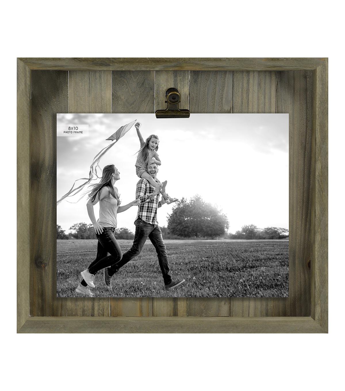 Barnwood Clip Frame 8\