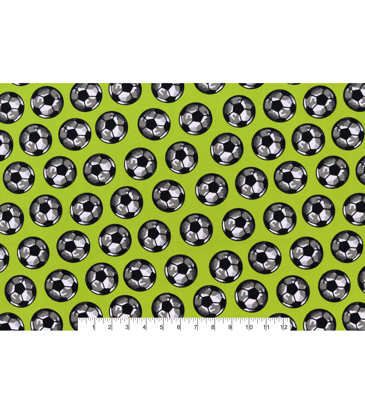 Snuggle Flannel Fabric 42\u0027\u0027-Camo Soccer Ball