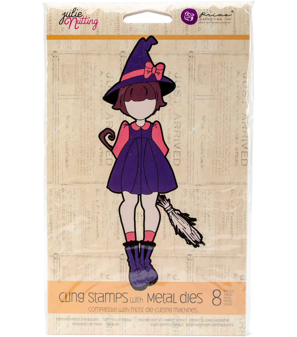 Stamp & Die Set-Lil\u0027 Witch