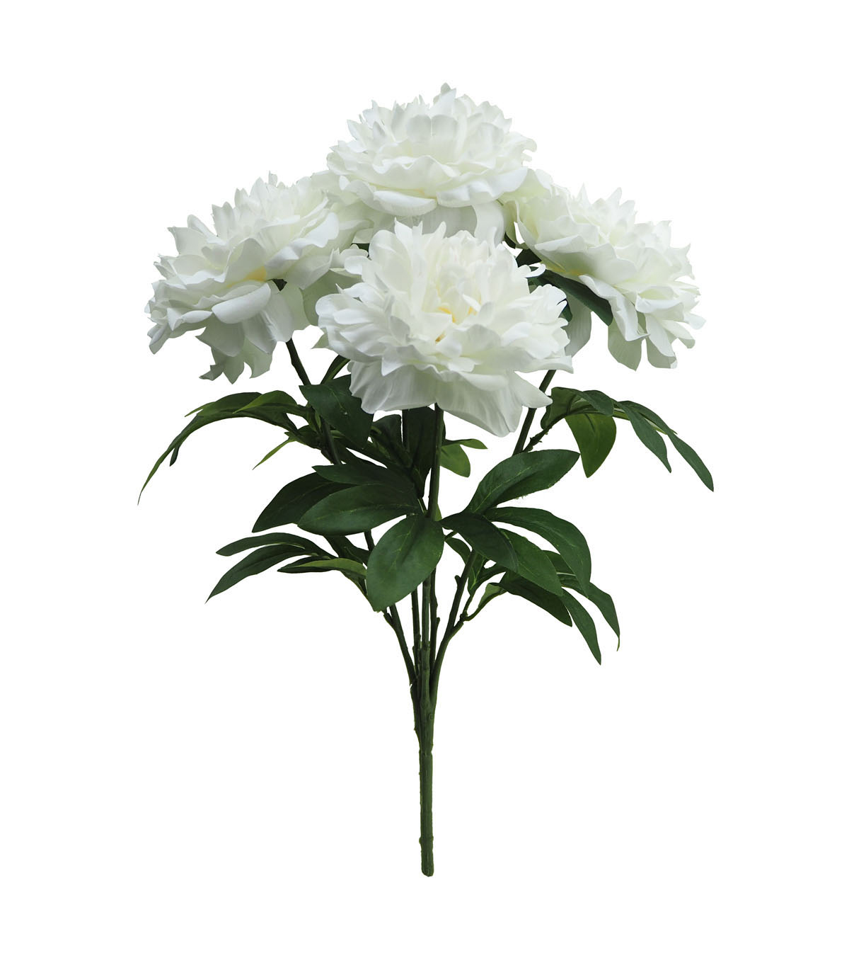 Blooming Holiday Christmas Water Resistant Peony Bush-White