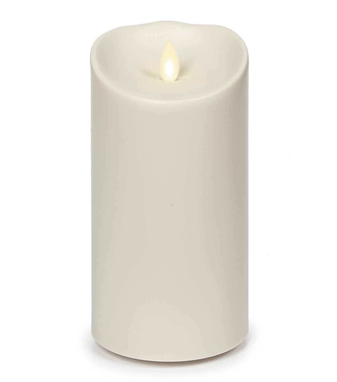 luminara outdoor candles. Luminara Outdoor Pillar Candle, 7\\u0022 High Candles E