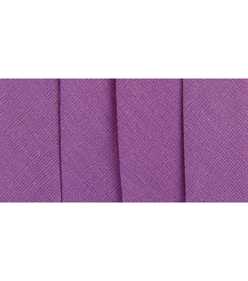 Wrights Extra Wide Double Fold Bias Tape, Purple