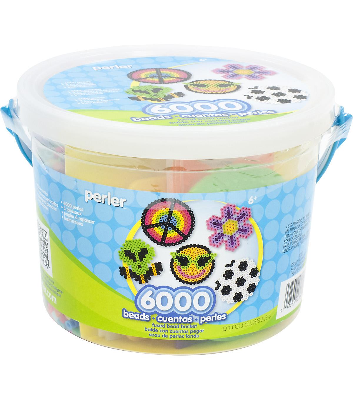 Perler Activity Bucket-6000 Beads+5 Pegboards