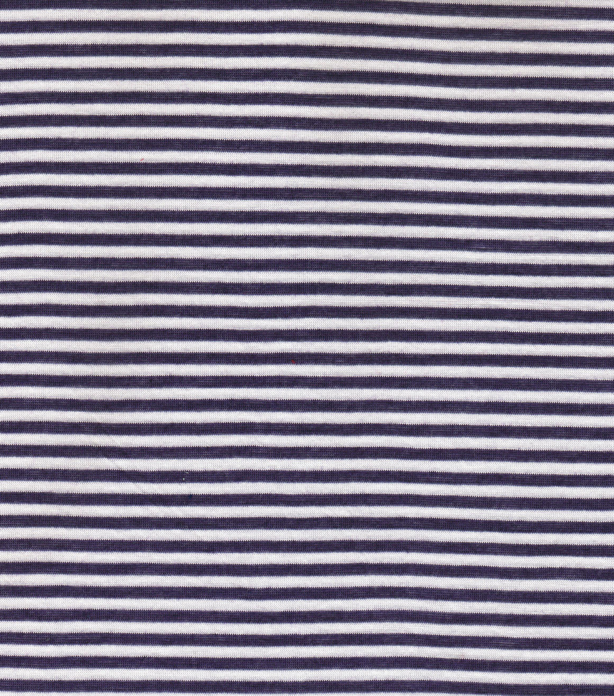 Red Tag Apparel Fabric-Jersey Basic Stripe Eggplant