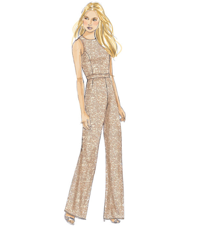 McCall\u0027s Pattern M7540 Misses\u0027 Top, Dress, Skirt & Jumpsuit-Size 14-22
