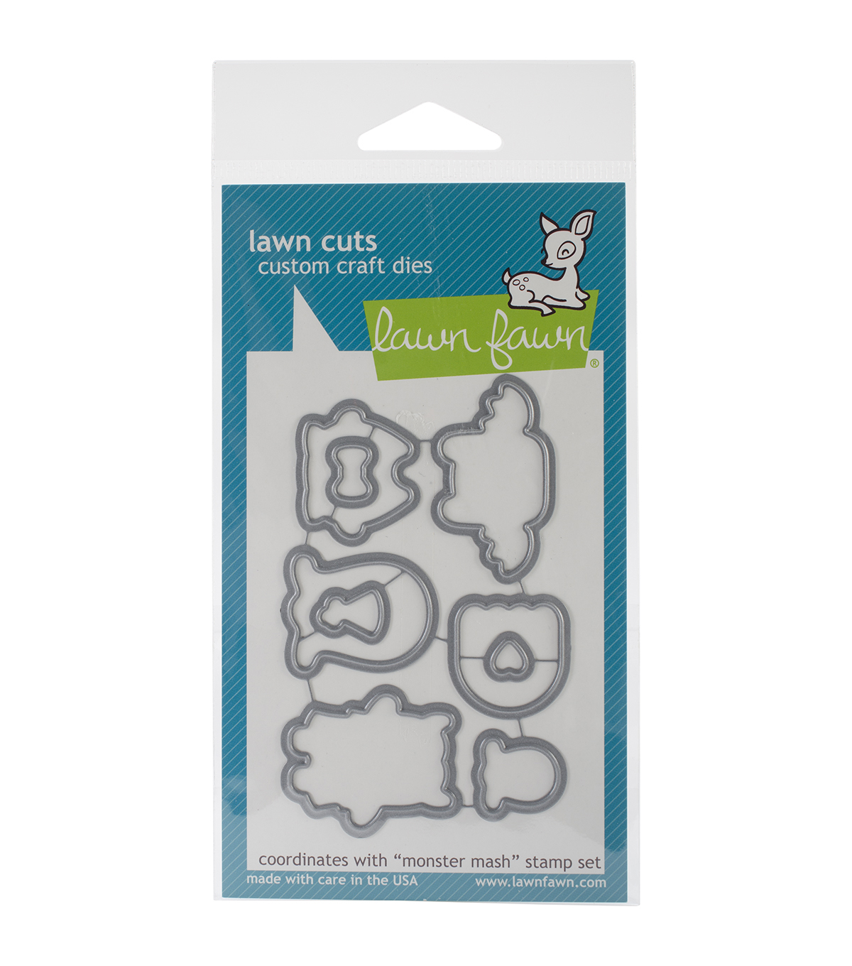 Lawn Fawn Lawn Cuts Custom Craft Die -Monster Mash