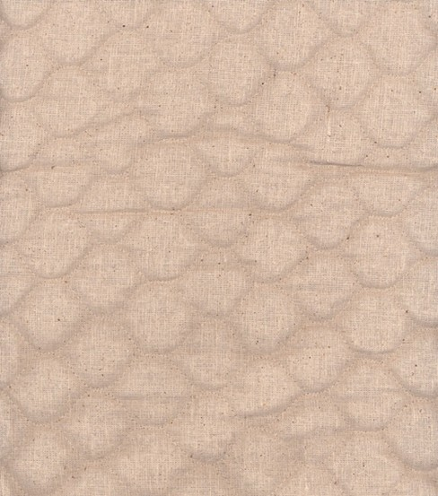 Double Faced Pre-Quilted Cotton Fabric -Diamond Solids, Osnaburg