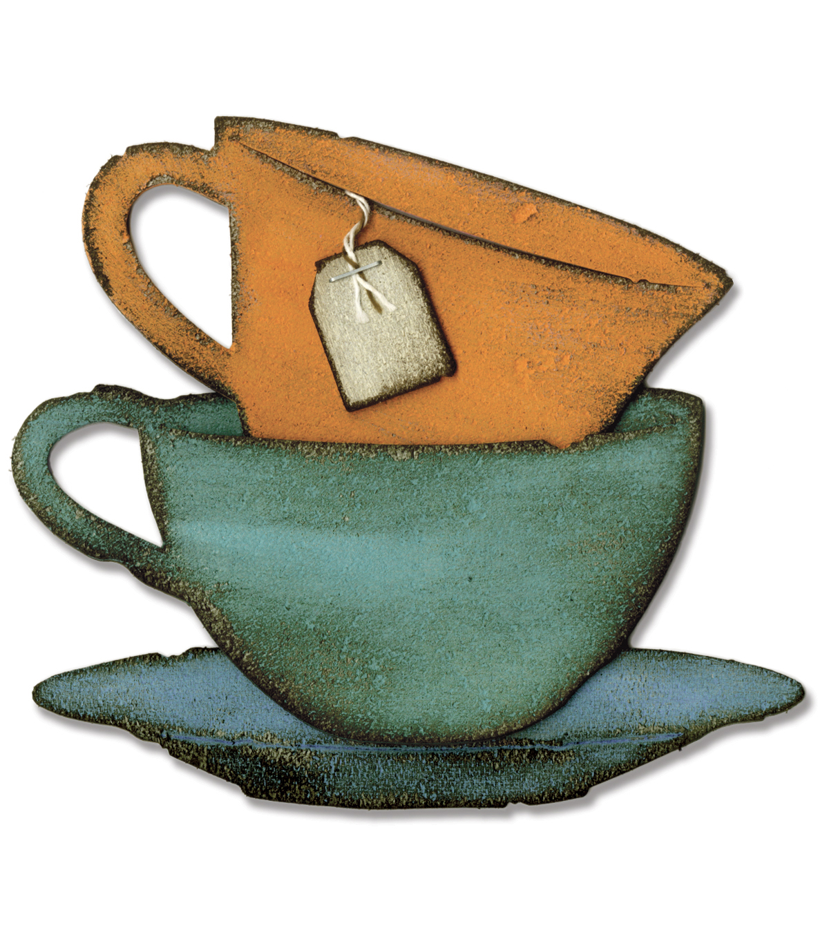 Sizzix Bigz Die By Tim Holtz-Tea Time By Tim Holtz