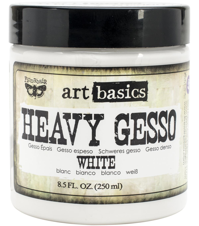 17-Ounce White Prima Marketing Art Basics Heavy Gesso