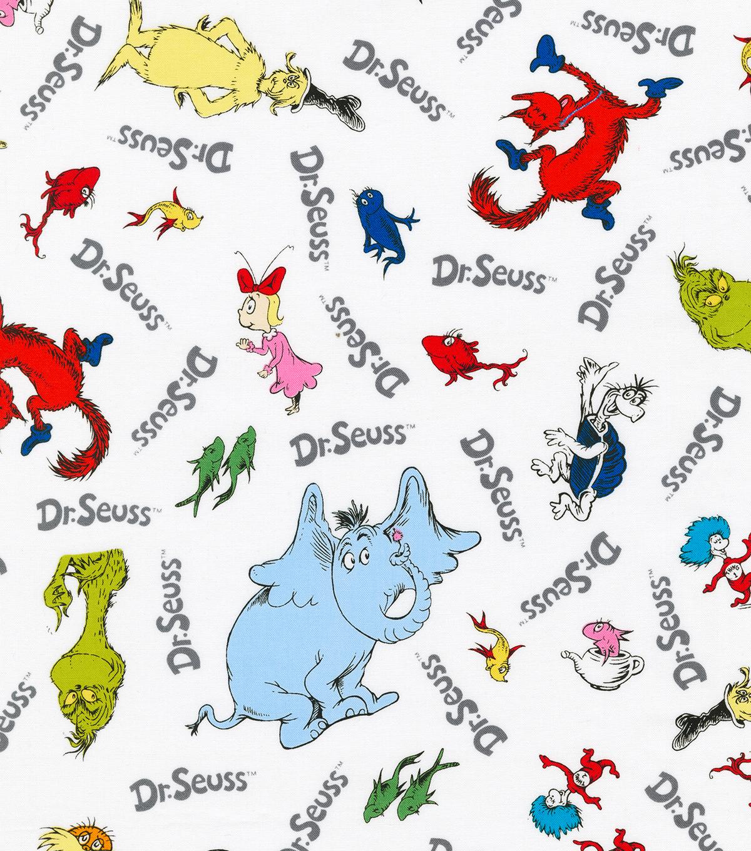 Dr Seuss Cotton Fabric Character Joann