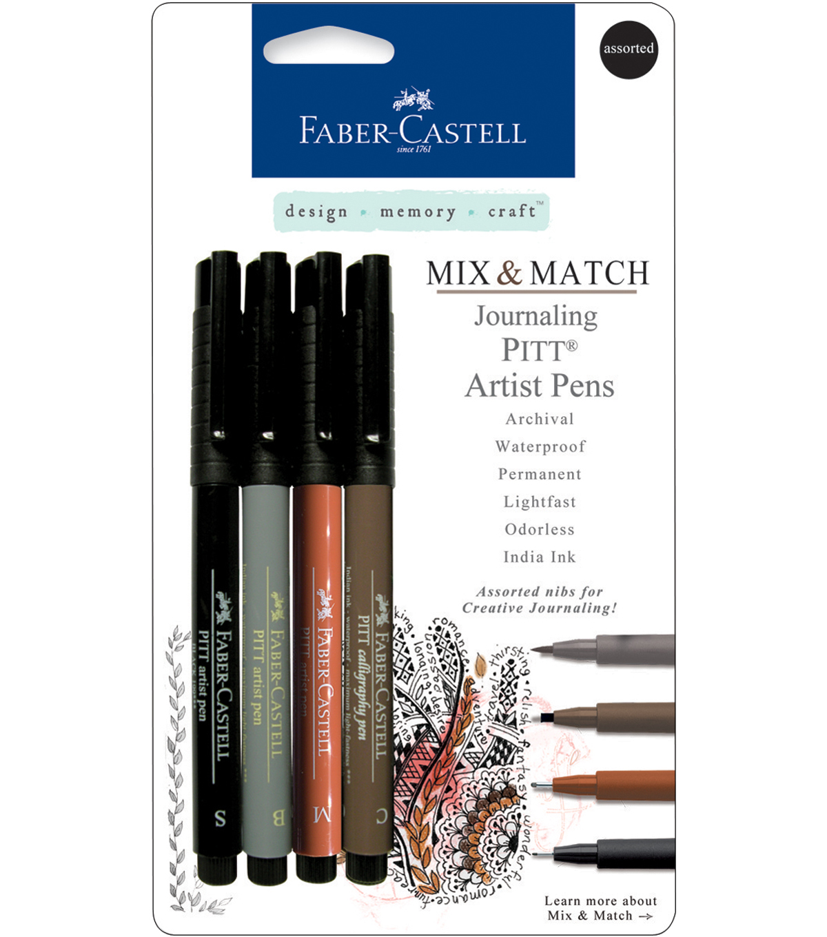 Faber-Castell design-memory-craft Mix & Match Pitt Artist Pens
