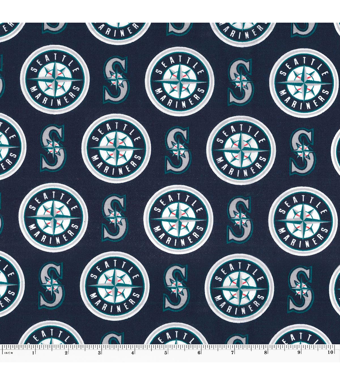 Seattle Mariners Mlb Cotton Fabric Joann