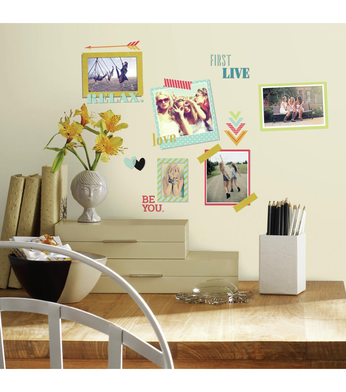 York Wallcoverings Wall Decals-BFF Frames