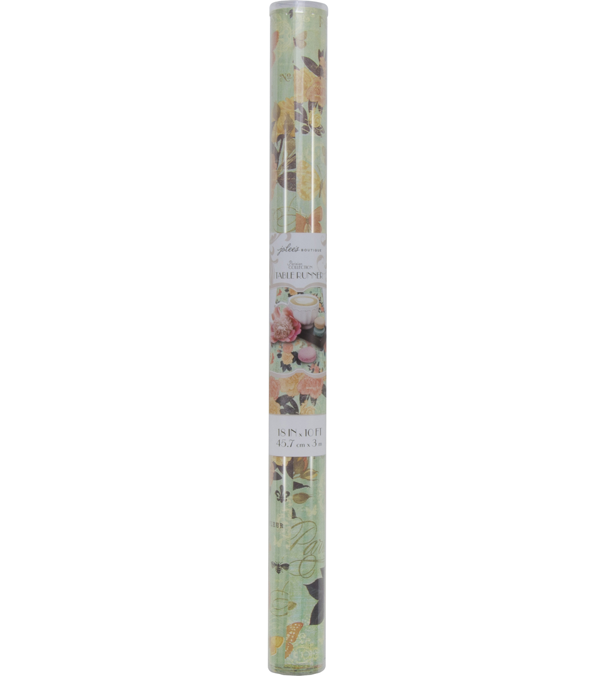 Jolee\u0027s Boutique Parisian Blue Collage Table Runner