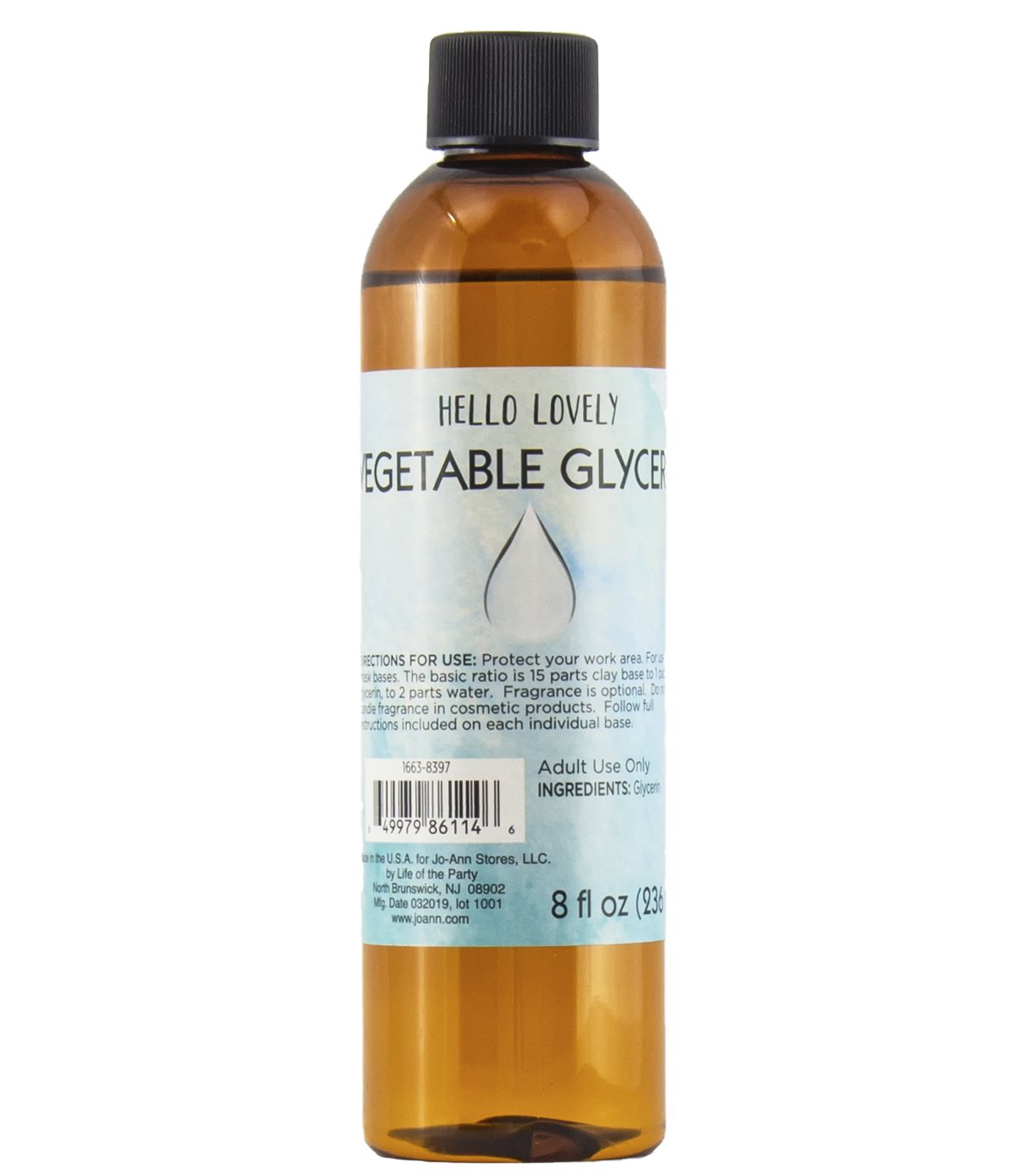 Hello Lovely Vegetable Glycerin 8oz