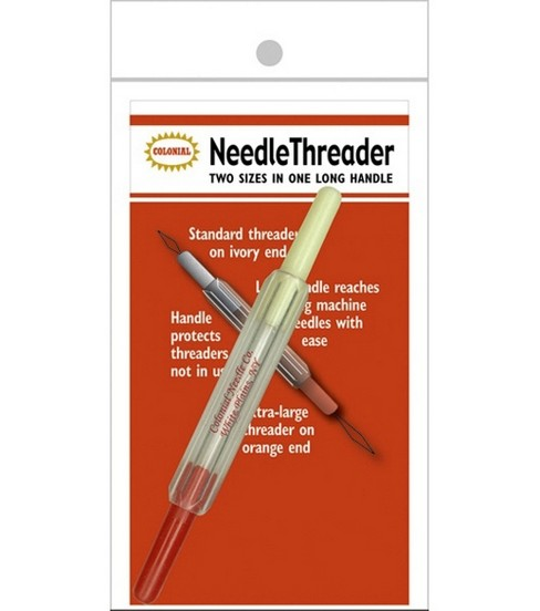 Wire Needle Threader In A Tube
