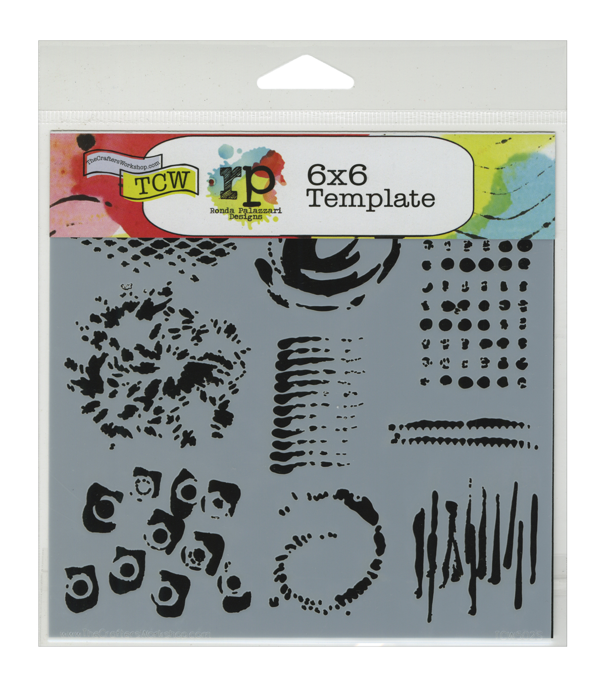 Crafter\u0027s Workshop Impressions Template 6\u0027\u0027x6\u0027\u0027