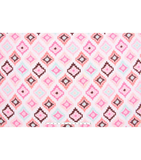 No Sew Fleece Throw 48\u0022-Dear Dream Panel