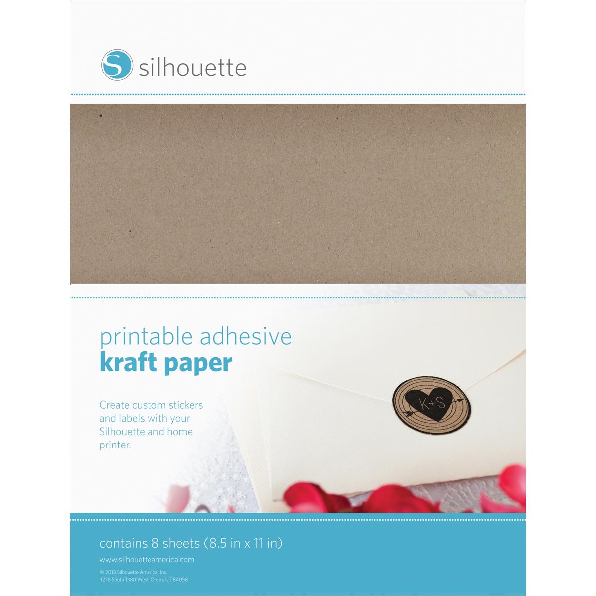 silhouette printable sticker paper 85u0022x11u0022