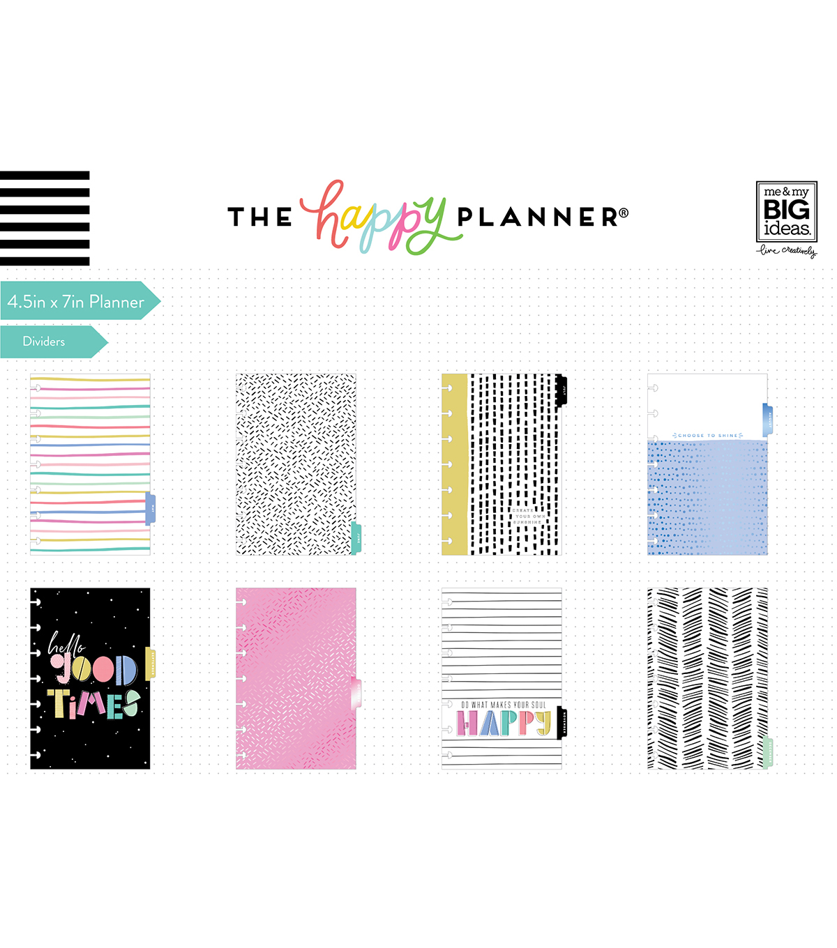 The Happy Planner Mini 2020 Dated Planner-Funky Brights
