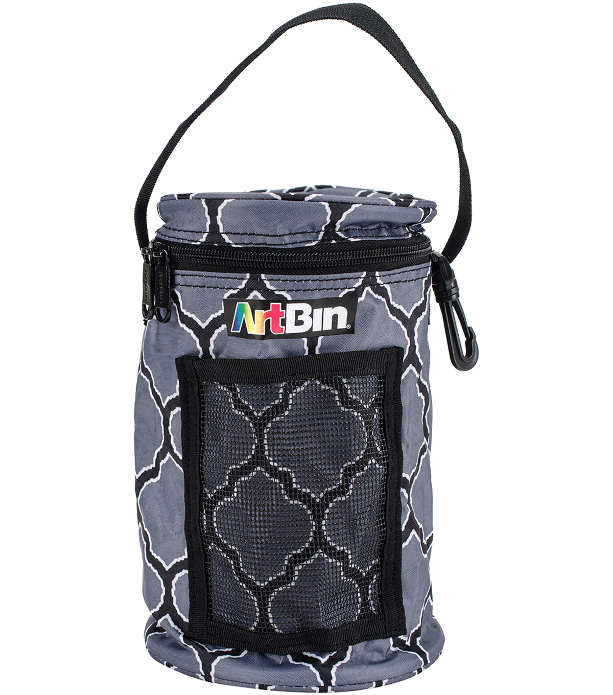 ArtBin Mini Yarn Drum 5.7\u0022X9.5\u0022-Black & Gray