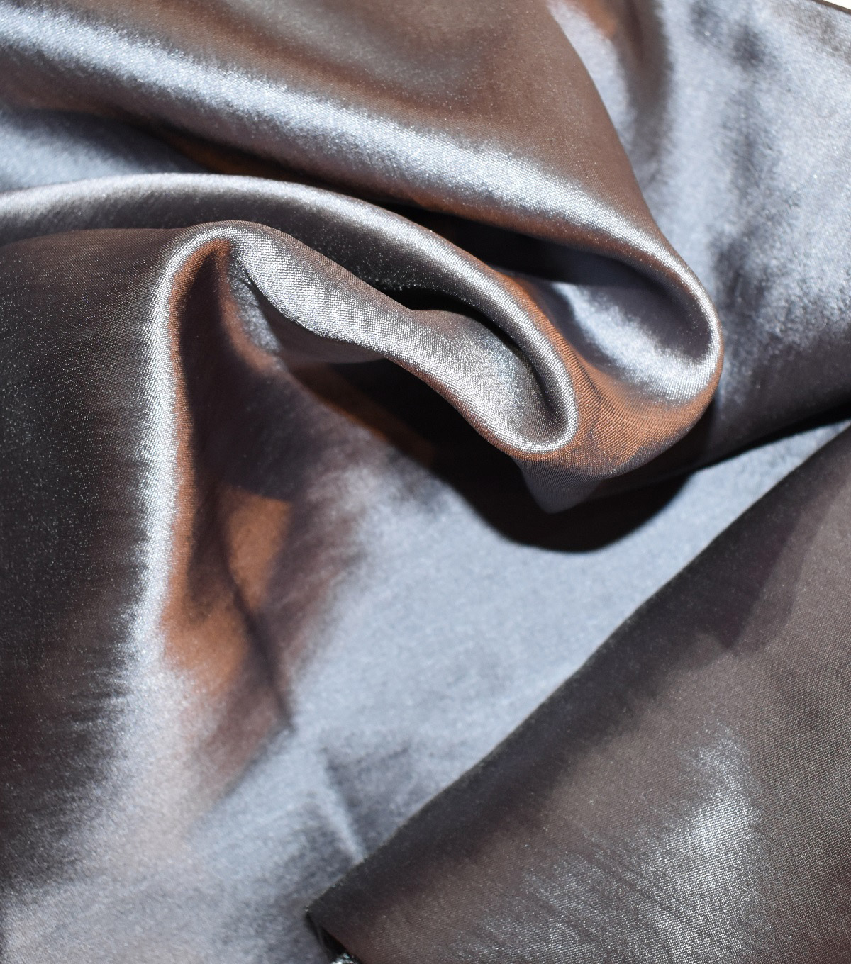 Casa Collection Two Tone Satin Fabric 57\u0027\u0027-Solid
