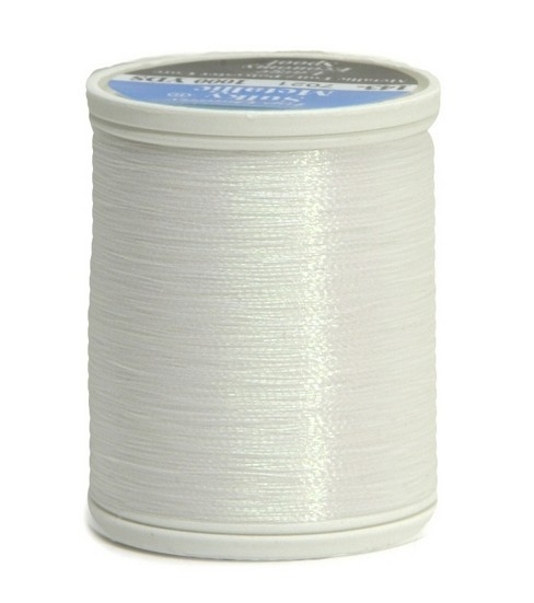 Sulky King Metallic Thread-1000 yds., White/7021