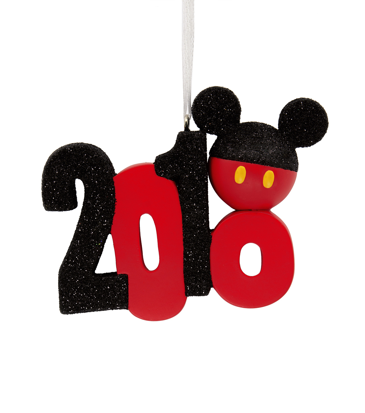Hallmark Ornament-Resin Figural Dated Stacked Mickey Icon