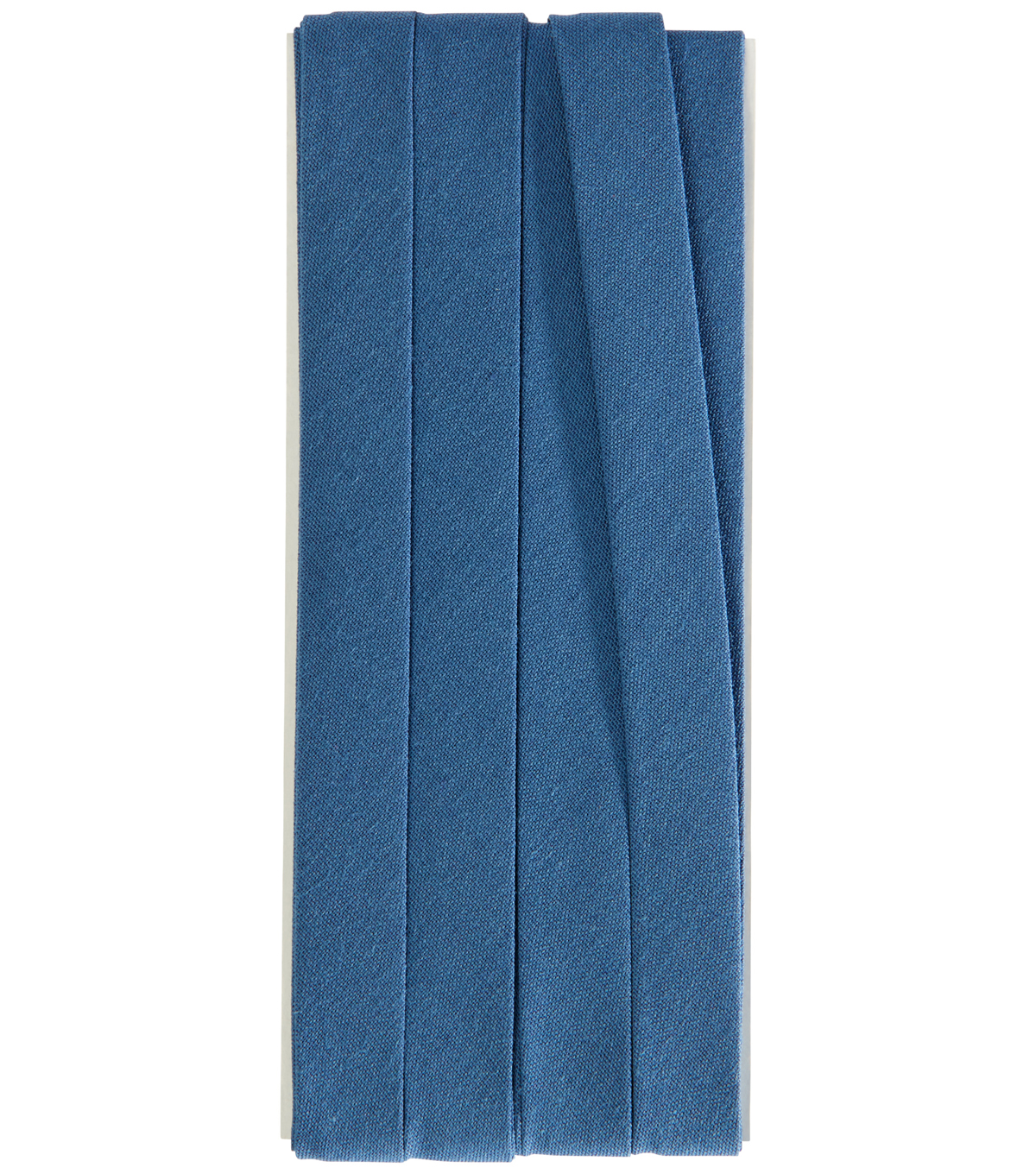 Wrights Extra Wide Double Fold Bias Tape, Stone Blue
