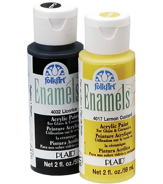 Acrylic Enamel Paint >> Folkart Enamels 2 Fl Oz Acrylic Paint