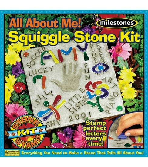 Mosaic Stepping Stone Kit-All About Me Squiggle
