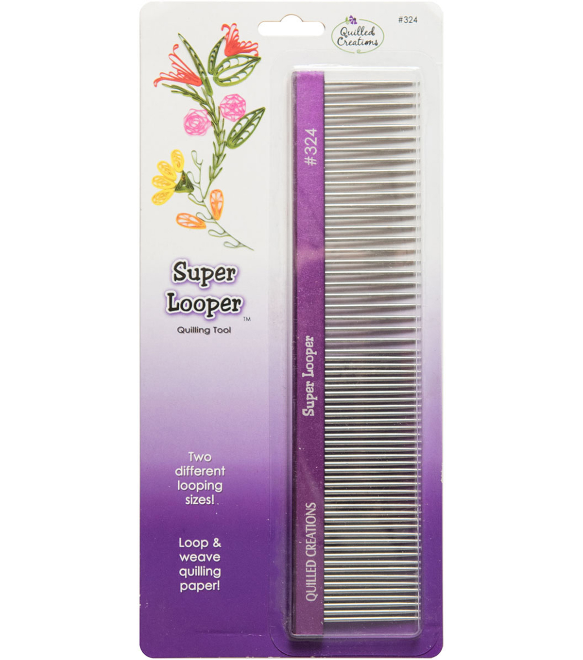 Quilled Creations Super Looper 1.75\u0027\u0027x8\u0027\u0027 Quilling Comb