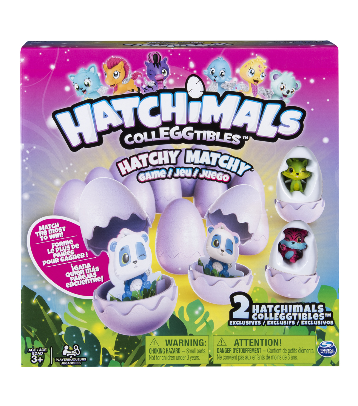 Hatchimals Hatchy Matchy Game