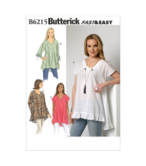 Butterick Misses Top-B6215