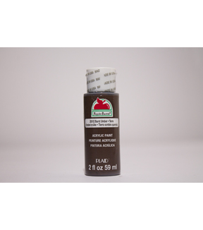 Apple Barrel 2 fl. oz. Acrylic Paint, Burnt Umber