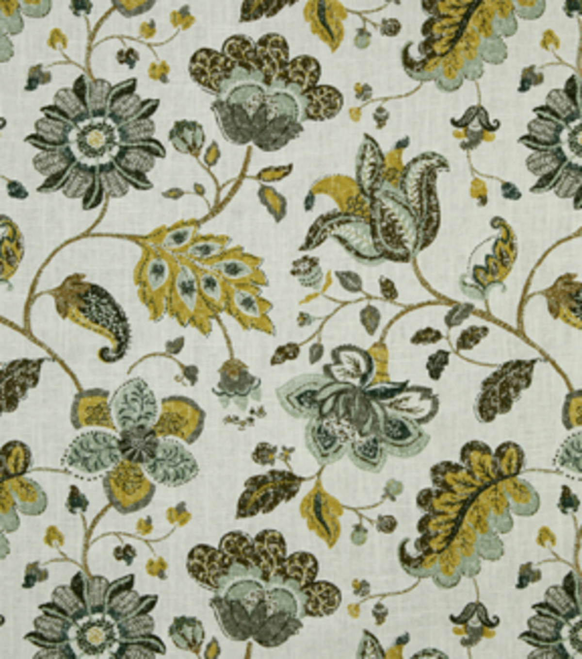 Robert Allen @ Home Upholstery Fabric 55\u0022-Spring Mix Aloe