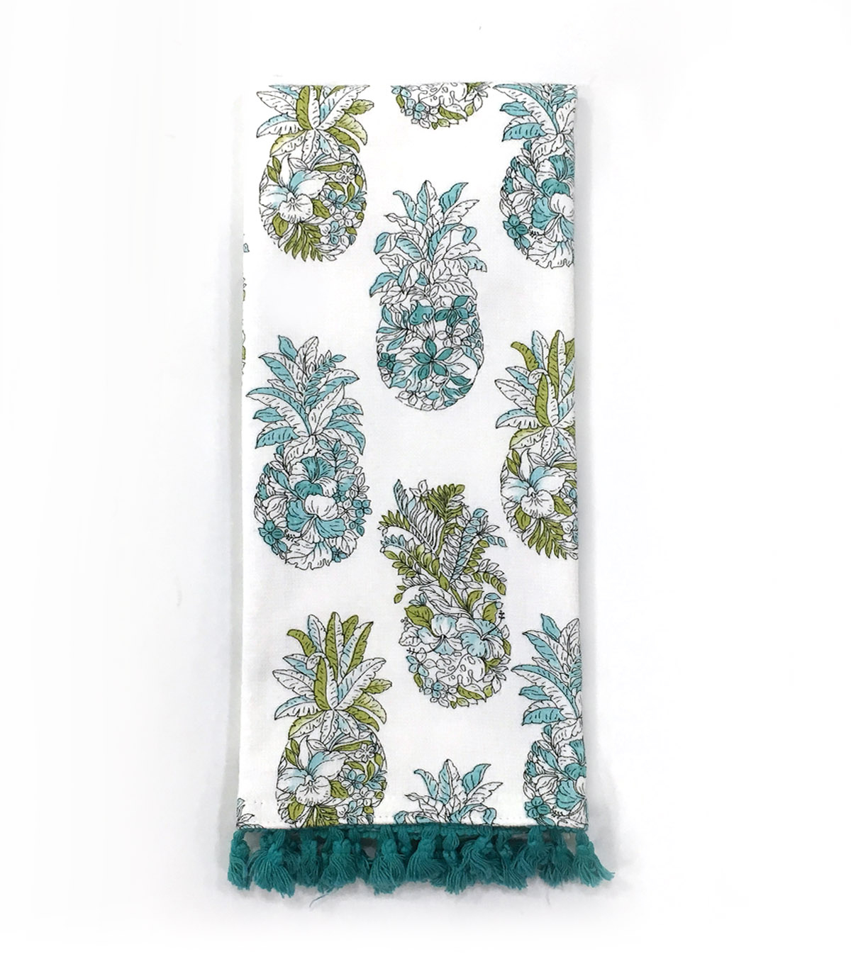 Patio Oasis Pineapples Towel