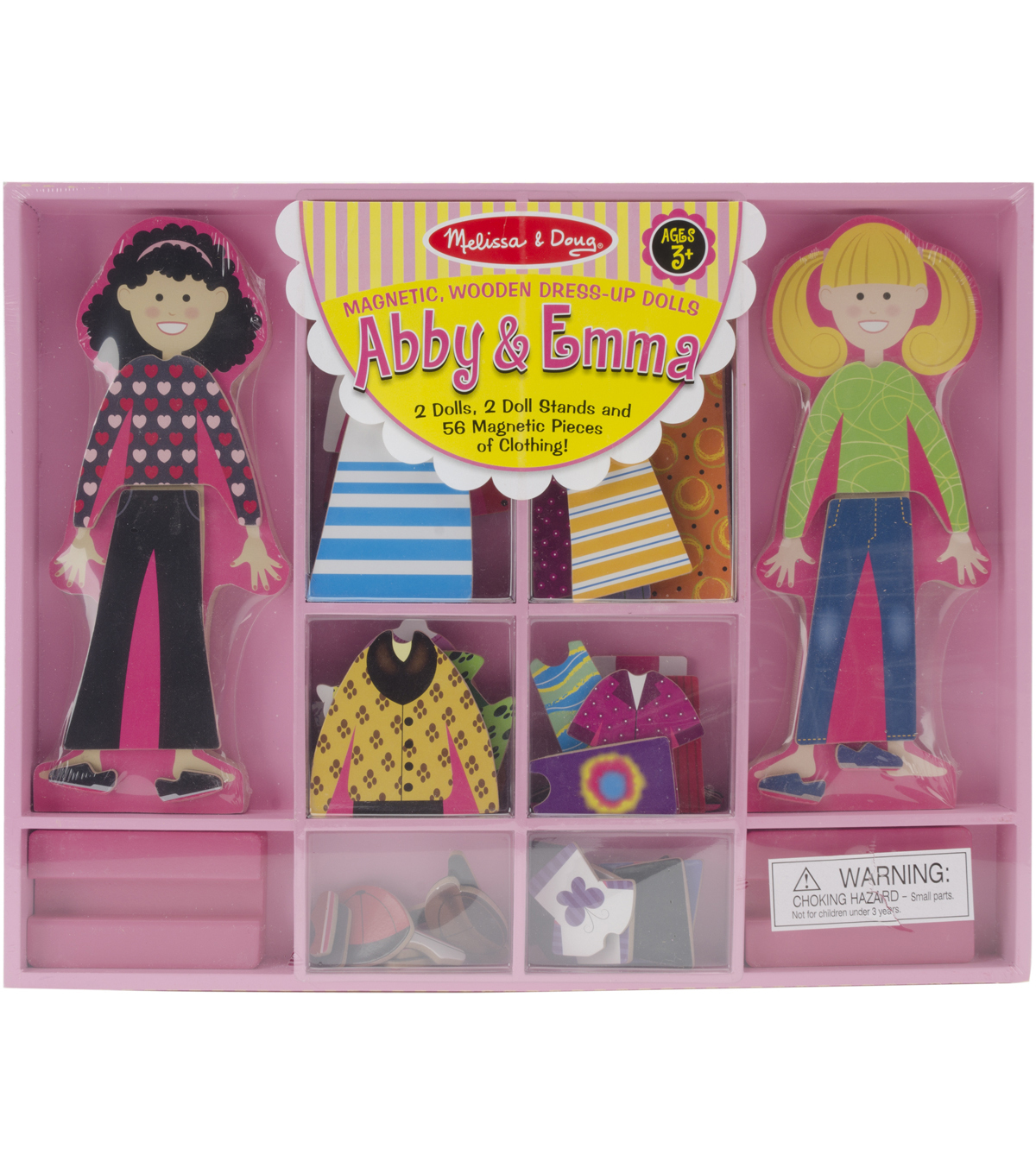 Melissa & Doug Abby & Emma Magnetic Dress-Up