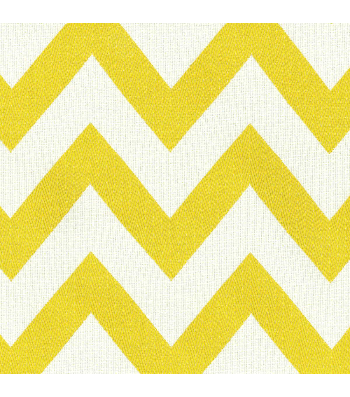 Chevron Chic/sunshine Swatch
