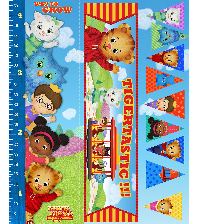 Disney Junior Daniel Tiger Felt Fabric Panel 36 Growth Chart Joann