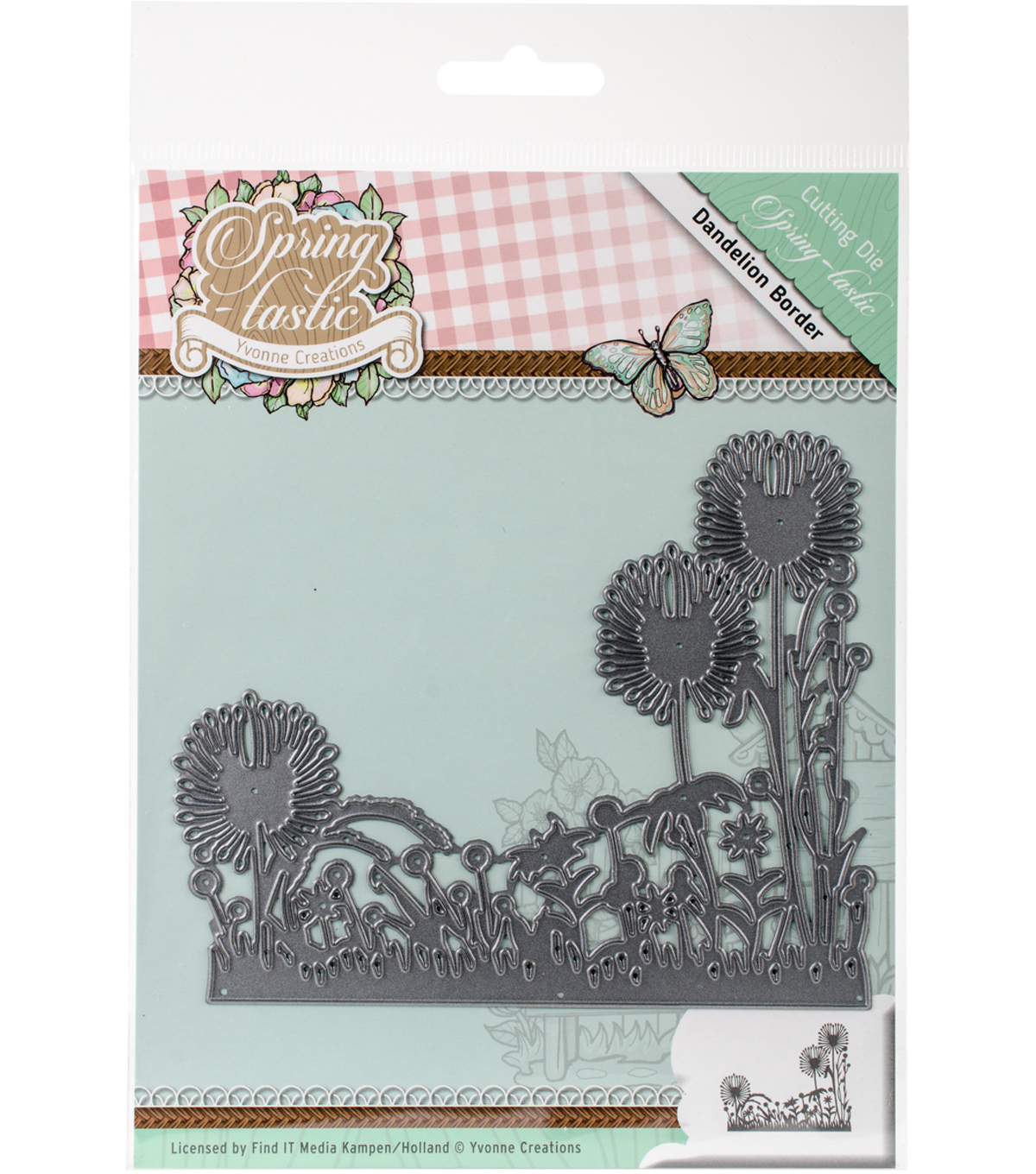 Find It Trading Yvonne Creations Springtastic Die-Dandelion Border