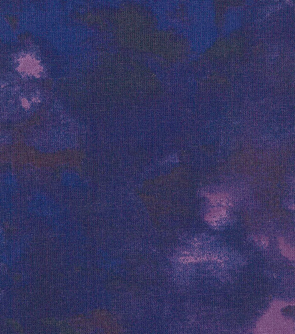 Wide Quilt Fabric 108\u0027\u0027-Dark Blue Watercolor