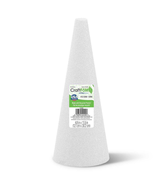 Styrofoam Cone 12\'\' x 5\'\' | JOANN