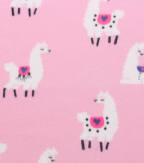 Blizzard Fleece Fabric 59\u0022-Sassy Llamas