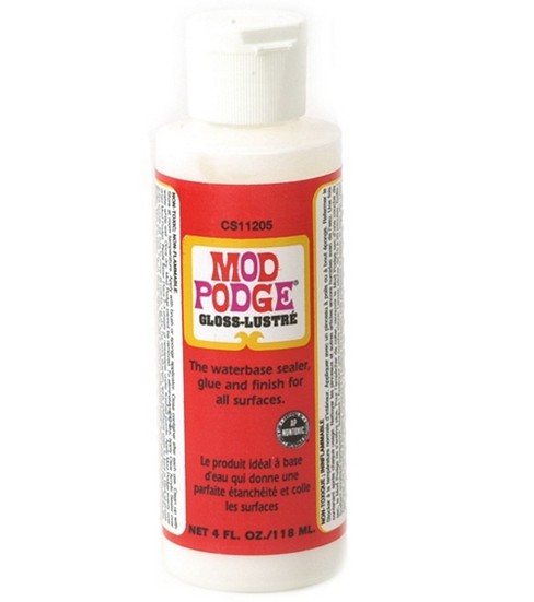 Plaid Modge Podge-4 oz./Gloss-Lustre