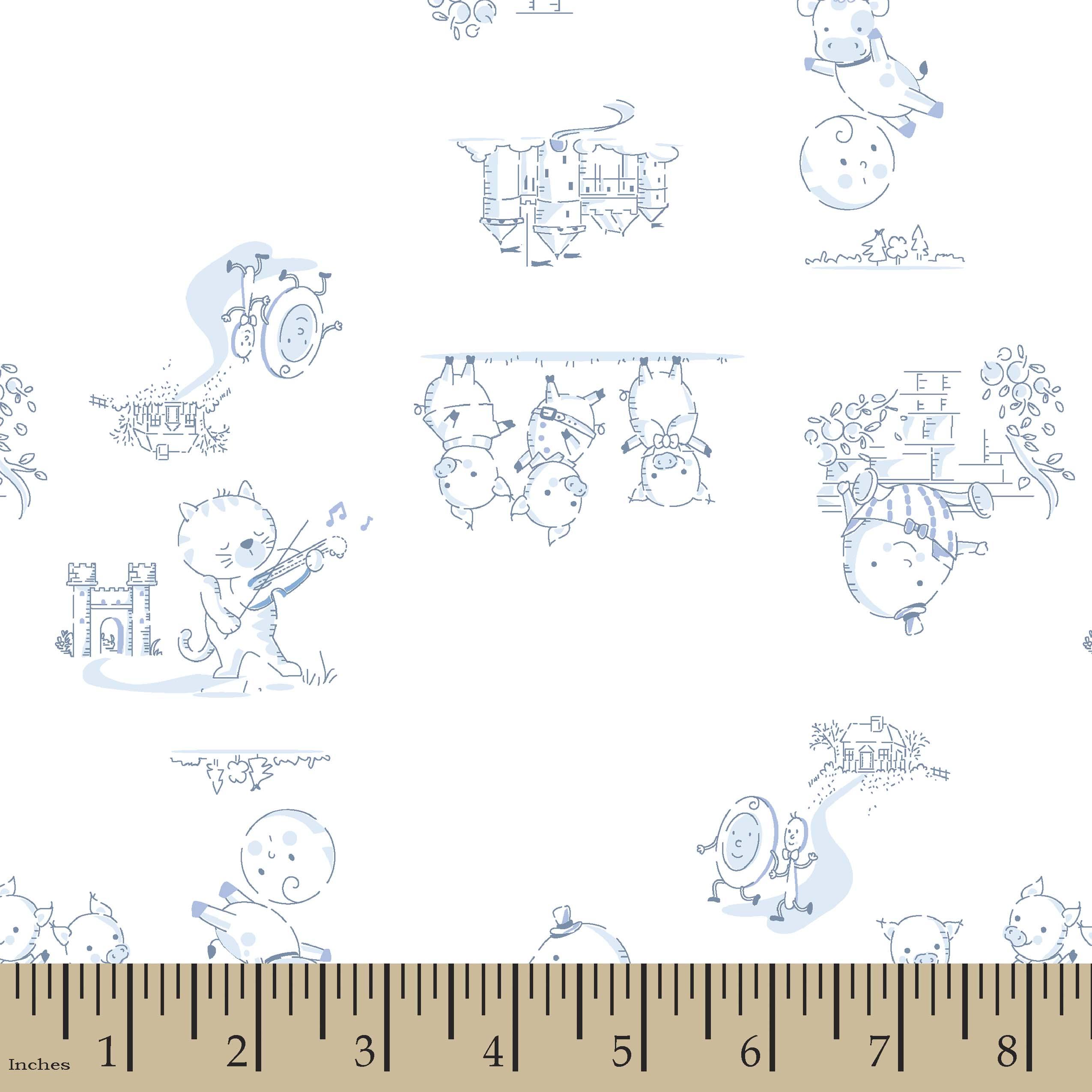 nursery rhymes print fabric | joann