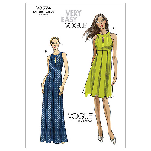Vogue Patterns Misses Dress-V8574