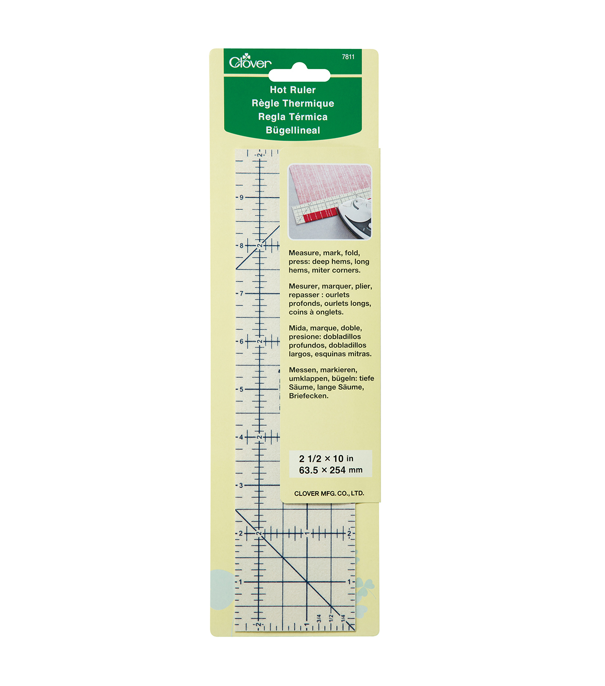 Clover Needlecraft Hot Ruler